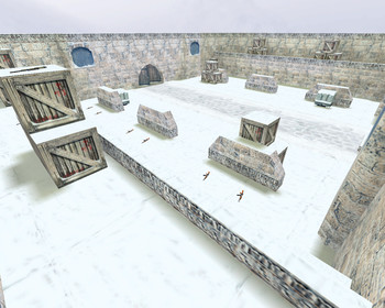 CS 1.6 карта aim_snowy_winter