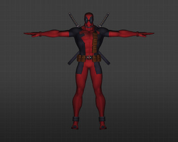 Модель CS 1.6 Deadpool